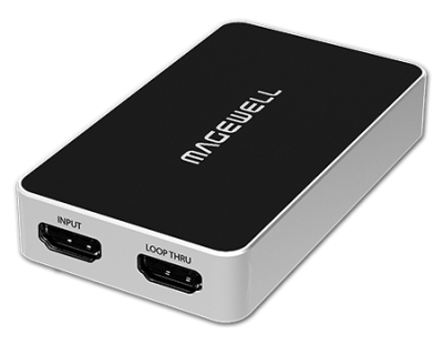 Magewell USB Capture HDMI Plus One channel 2K Capture Device