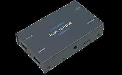 Pro Convert H.26x to HDMI