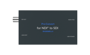 Pro Convert for NDI to SDI